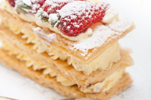 napoleon strawberry cream cake dessert 006.jpg