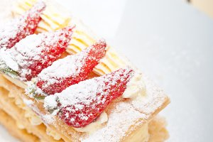 napoleon strawberry cream cake dessert 015.jpg