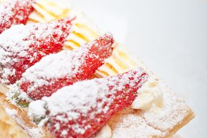 napoleon strawberry cream cake dessert 014.jpg