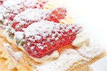 napoleon strawberry cream cake dessert 022.jpg