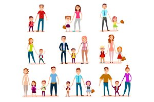 Collection of Parents with Their