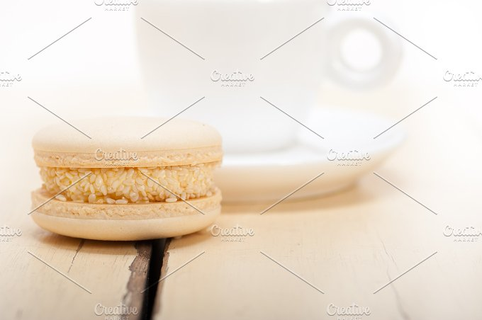 macaroons and espresso coffee 002.jpg - Food & Drink