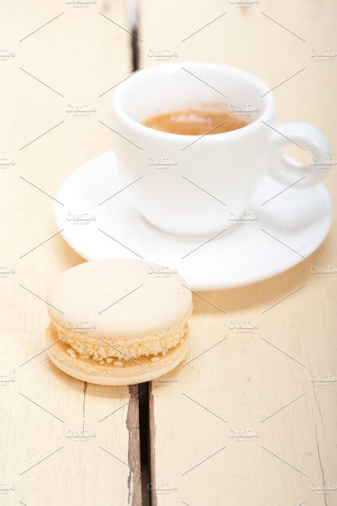 macaroons and espresso coffee 005.jpg - Food & Drink