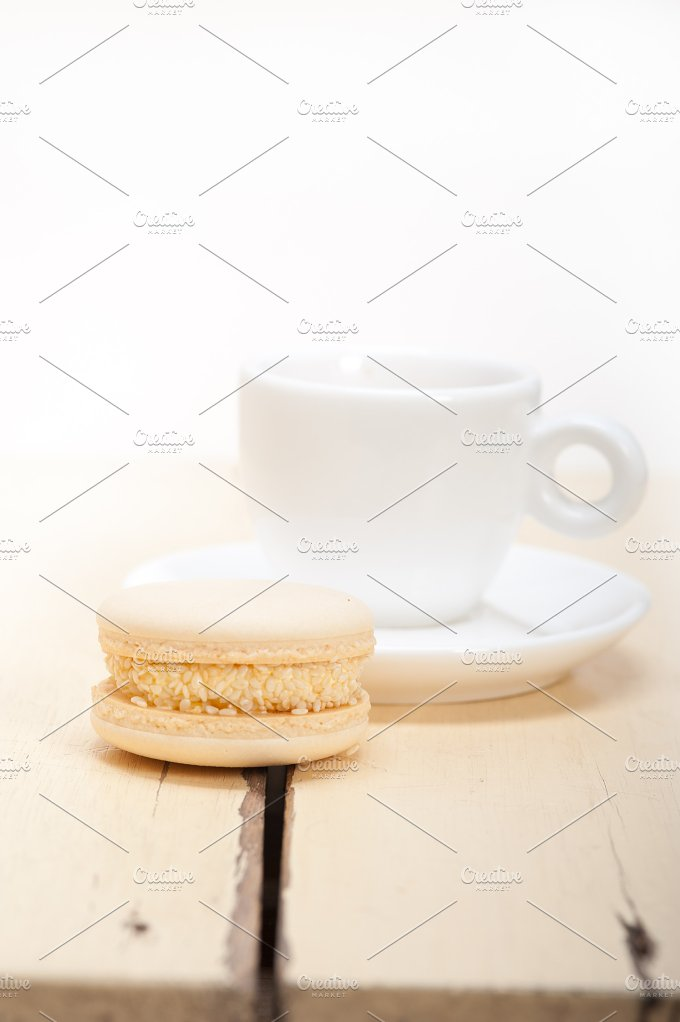 macaroons and espresso coffee 004.jpg - Food & Drink