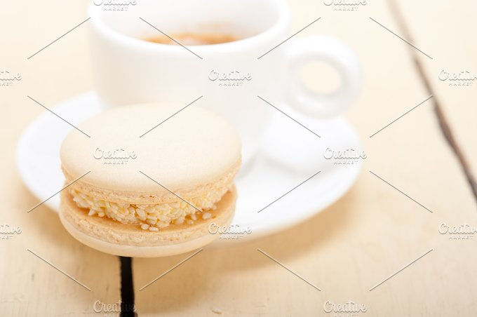 macaroons and espresso coffee 010.jpg - Food & Drink