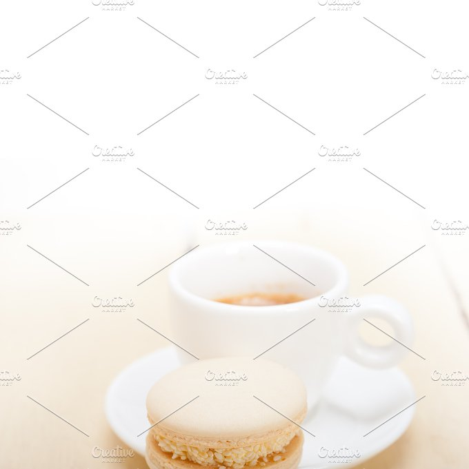 macaroons and espresso coffee 013.jpg - Food & Drink