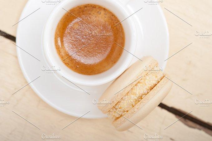 macaroons and espresso coffee 017.jpg - Food & Drink