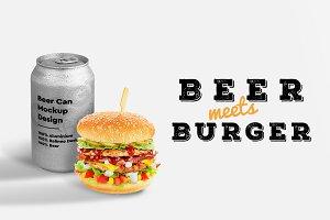 Burger & Beer Mock-up #5
