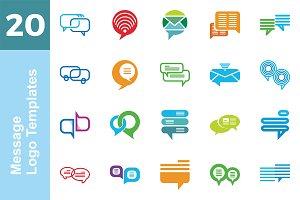 20 Logo Message Templates Bundle