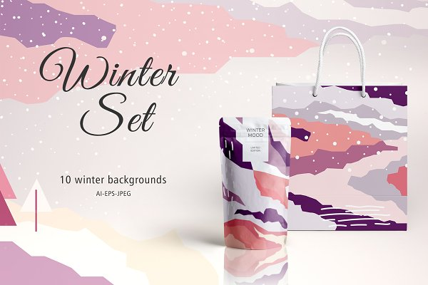 Graphic Patterns: BrandCarry - Winter Set