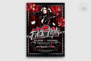Fetish Party Flyer Template