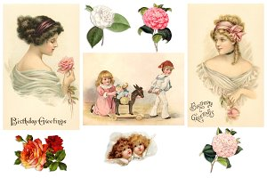 Vintage Decoupage Collection