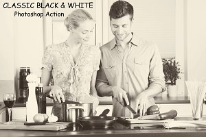 Classic Black & white - PS Action