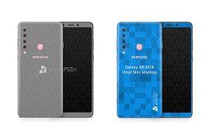 Samsung Galaxy A9 Vinyl Skin Design