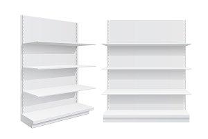 Advertising POS POI Display Shelves