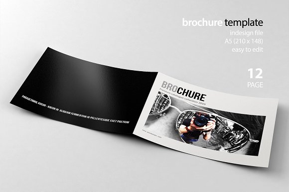 Indesign Brochure-Graphicriver中文最全的素材分享平台