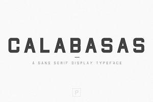 Calabasas | Display Font Family
