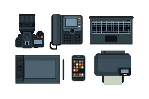 Office equipment, mobile devices