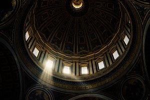 Sunlight in the Vatican