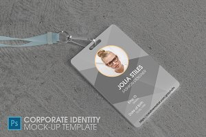 Corporate Id Mock-up Template V2