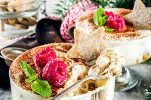 Gingerbread Tiramisu trifle