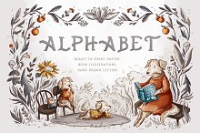 Alphabet Poster by  in Illustrations