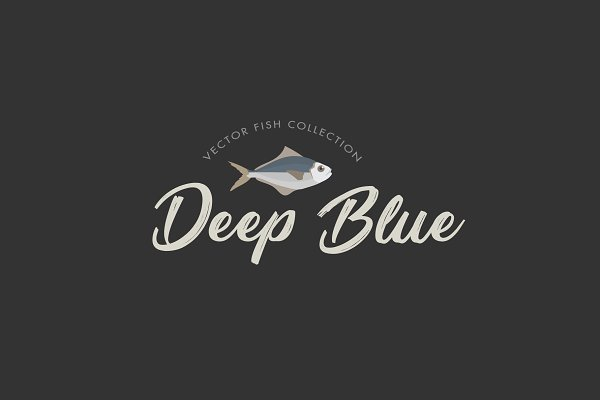 Objects: Dmrs Co. - Deep Blue // Vector Fish