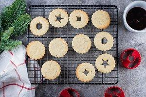Holiday Sweet Food. Cookies