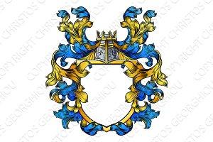Coat of Arms Knight Crest Heraldic