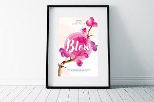 Sale Typography Flyer Templates