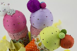 Handmade ice-creams