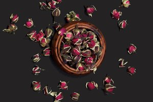 Rose Flowers Tea