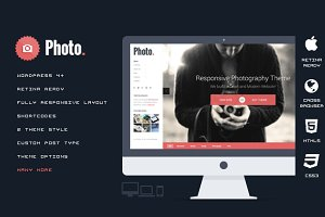 Photo - Responsive WordPress Theme