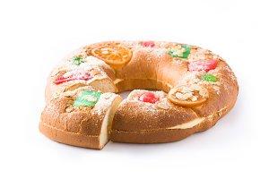 "Epiphany cake ""Roscon de Reyes"""