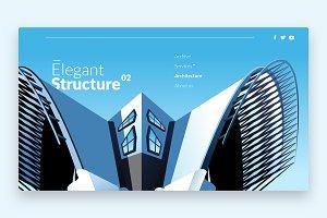 Elegant Structure - Banner & Landing