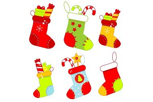 Christmas socks, stockings