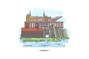Norway historical landmarks