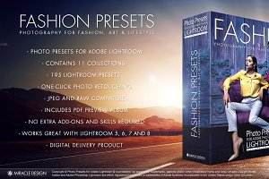 Presets for Lightroom / Fashion