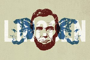 2 Lincoln Illustrations - By Hand