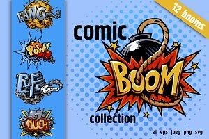 Cool comics explosions