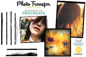 Procreate Photo Transfer Brushes
