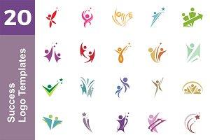 20 Logo Success Templates Bundle