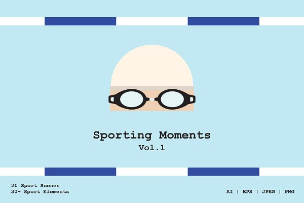 Illustrations: Prangtip F. - Sporting Moments Vol.1