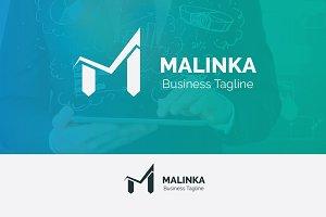 M Letter Check Logo