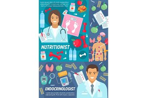 Nutritionist and endocrinologist