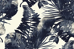 monochrome tropics | JPEG