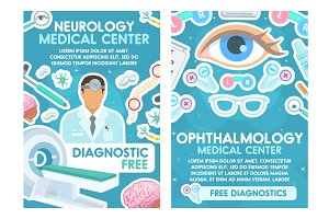 Neurology and ophthalmology doctors