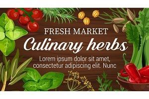 Culinary herbs and seasonings