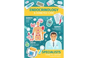 Endocrinology medicine diabetes care