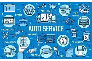 Car service, maintanance, garage